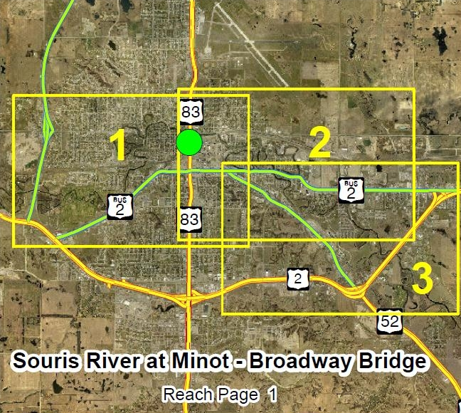 Broadway Bridge Overview Map