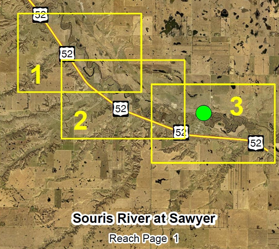 Sawyer Overview Map