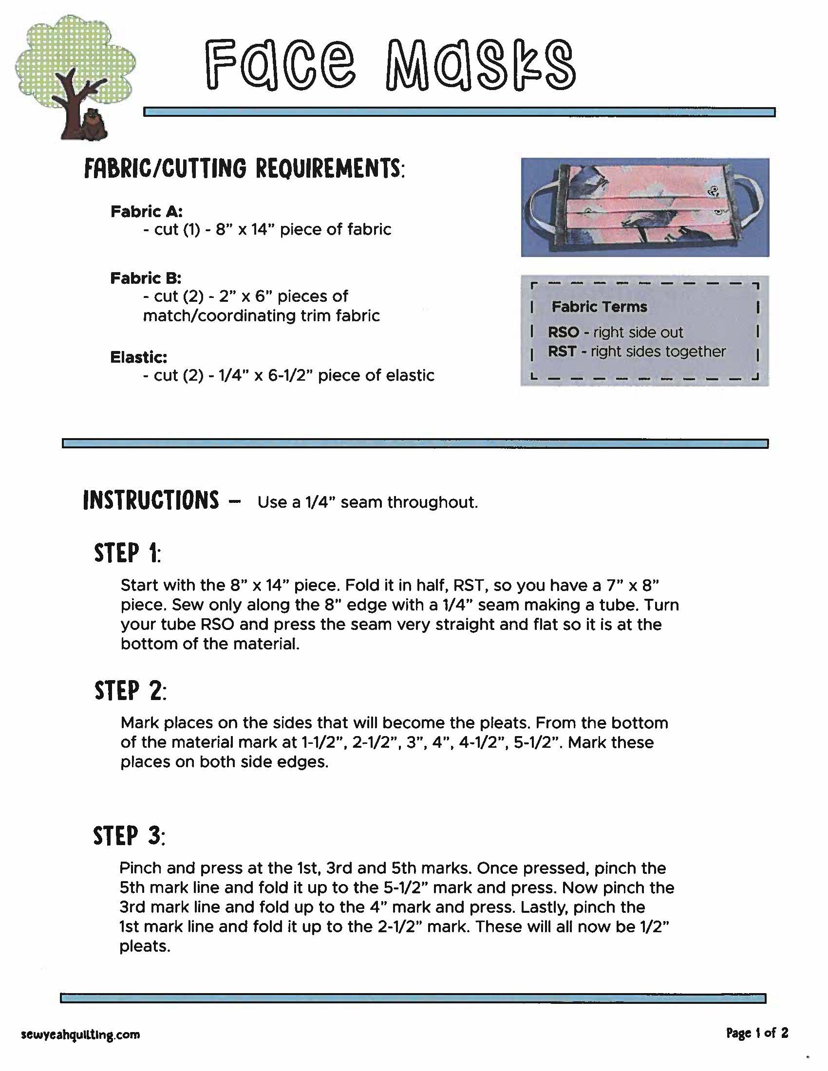 Surgical mask pattern_Page_1